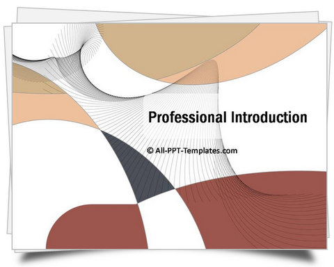 PowerPoint Professional Introduction Template