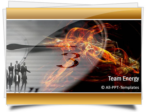 PowerPoint Team Energy Template