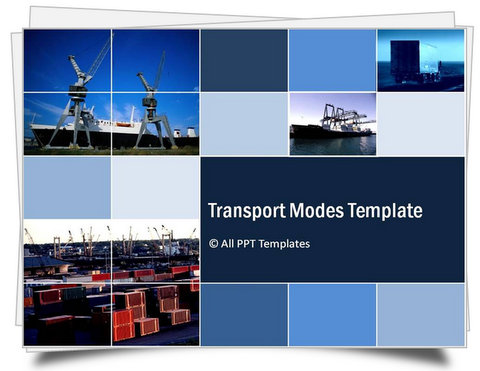 Powerpoint transport modes template toneelgroepblik