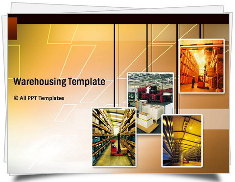 PowerPoint Warehousing  Template