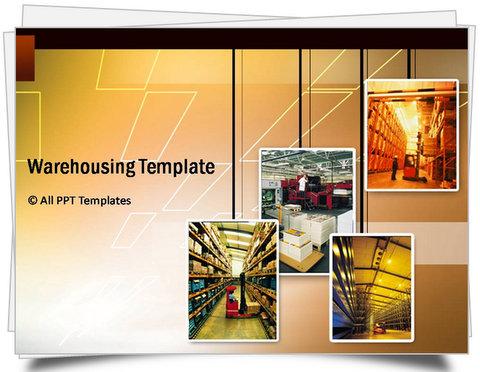 Powerpoint logistics templates powerpoint powerpoint warehousing template toneelgroepblik Gallery