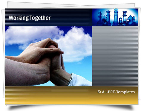 PowerPoint Working Together Template