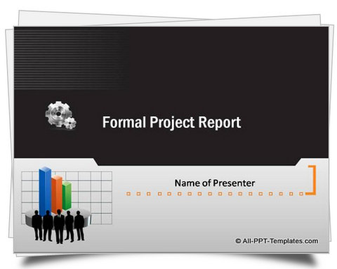 Powerpoint formal report template toneelgroepblik Choice Image