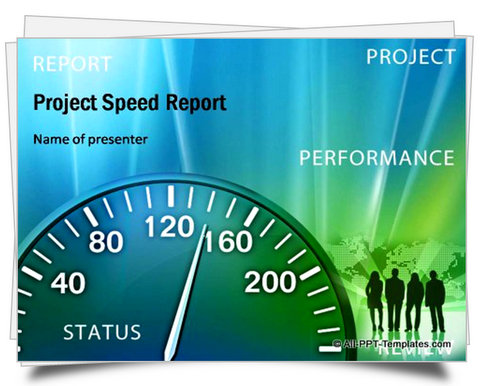 PowerPoint Project Speed Report Template