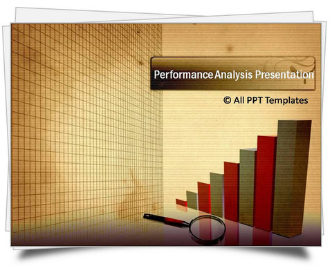 PowerPoint Performance Analysis Report Template