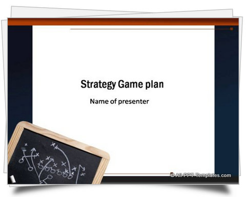 PowerPoint Strategy Game Plan Template