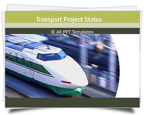 PowerPoint Transport Project Status Template