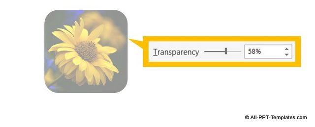Transparent Picture in PowerPoint