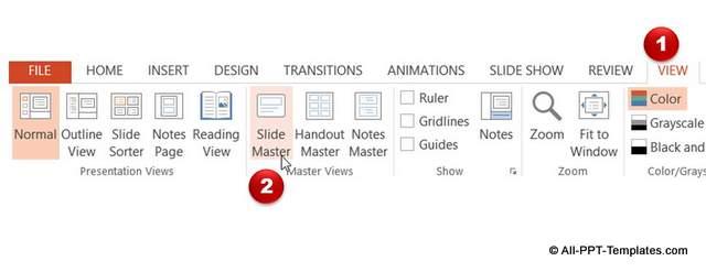 View Slide Master