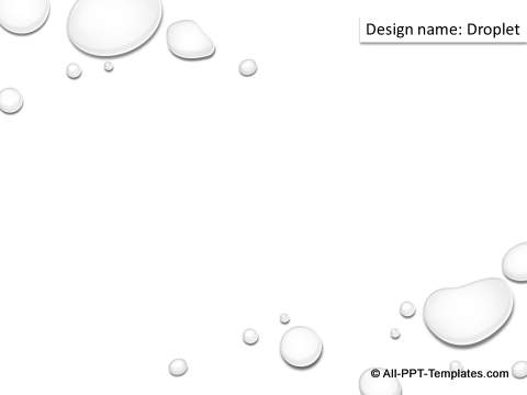 Water drops design graphics