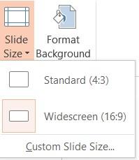 Powerpoint 2013 aspect ratio – microsoft powerpoint 2013 tutorials.