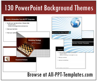 PowerPoint Background Themes Banner