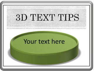 3 Tips for Legible 3D Text