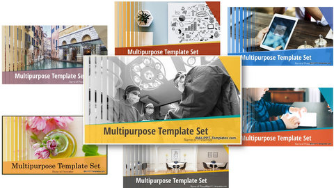 Multipurpose PowerPoint Template Set
