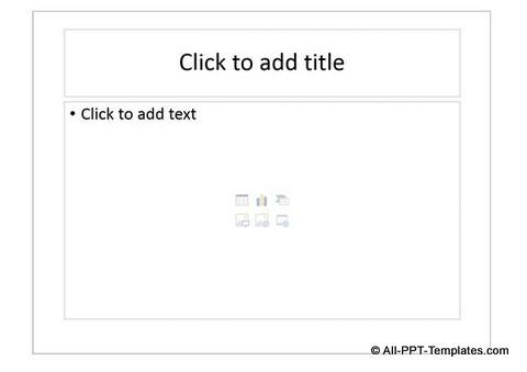 Add Slide Layout with Text