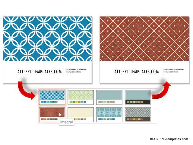 Variants to Design Theme