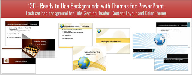 PowerPoint Background and Themes Pack