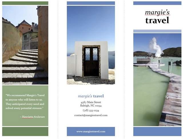 Brochure Template in PowerPoint