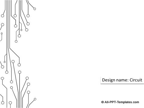 Circuit Design Theme from PowerPoint 2013