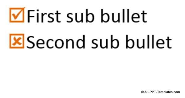 Creative Bullet Idea 2