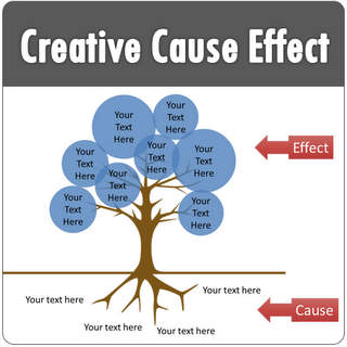 Creative PowerPoint Cause Effect