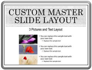 PowerPoint Master Slide Layout
