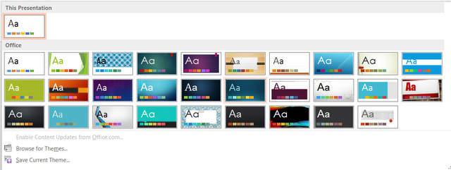 Design Theme Example