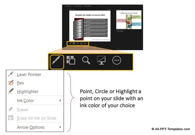 Highlighter in Presenter View