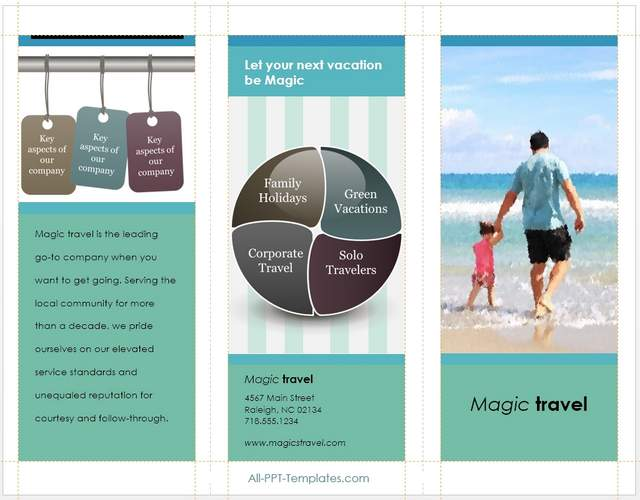 Brochure created With Infographics Pack