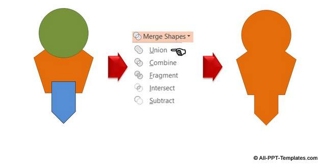 Merge Auto Shapes