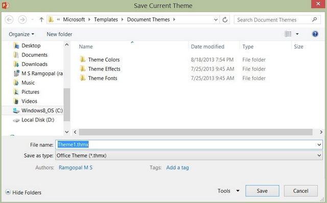 How to change default powerpoint slide size name the default theme toneelgroepblik Images
