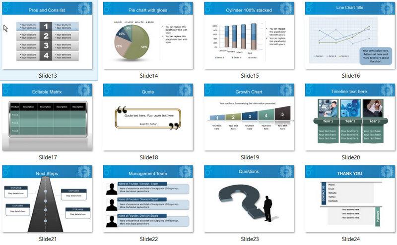 PowerPoint Engineering Computers Template 02
