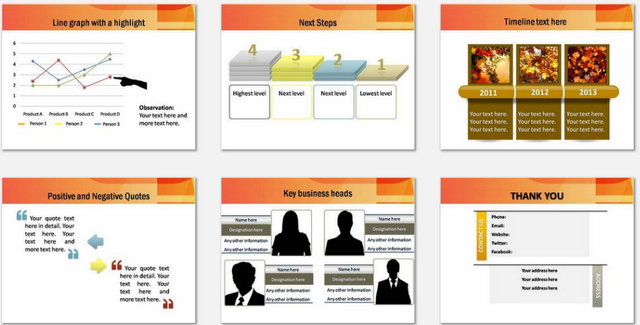 PowerPoint Accounting Audit Charts 3