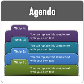 powerpoint agenda slides