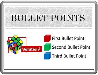 PowerPoint Bullets