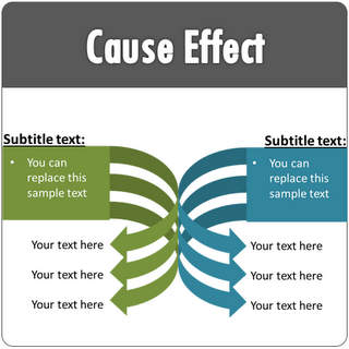 Powerpoint cause effect templates - Wit ceruse effect ...