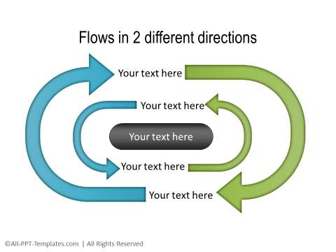 PowerPoint Circular Flow 31