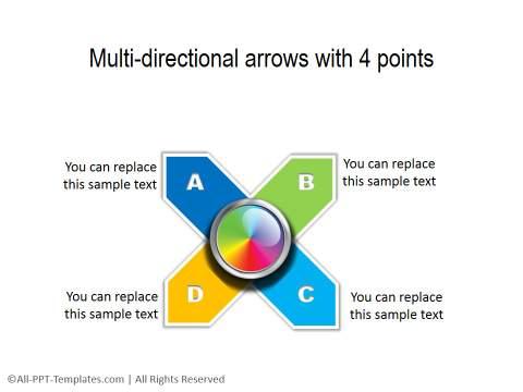 PowerPoint Circular List 04