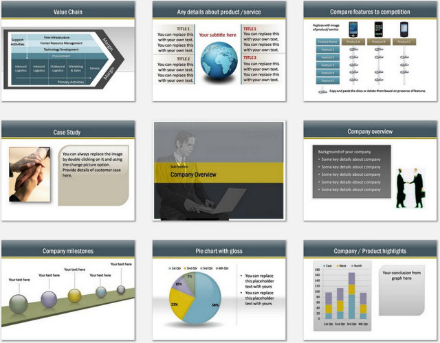 PowerPoint Consulting Services Charts 02