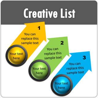 PowerPoint Creative List