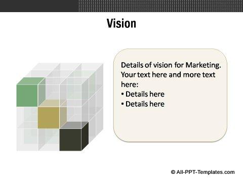 Market Evaluation Cube Vision Slide