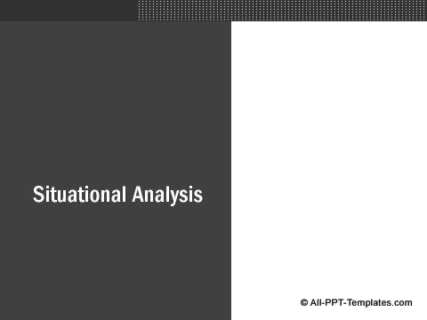 Market Evaluation Sub-heading example