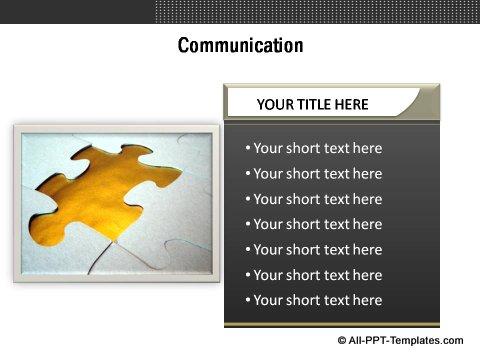 Market Evaluation Communication text boxes