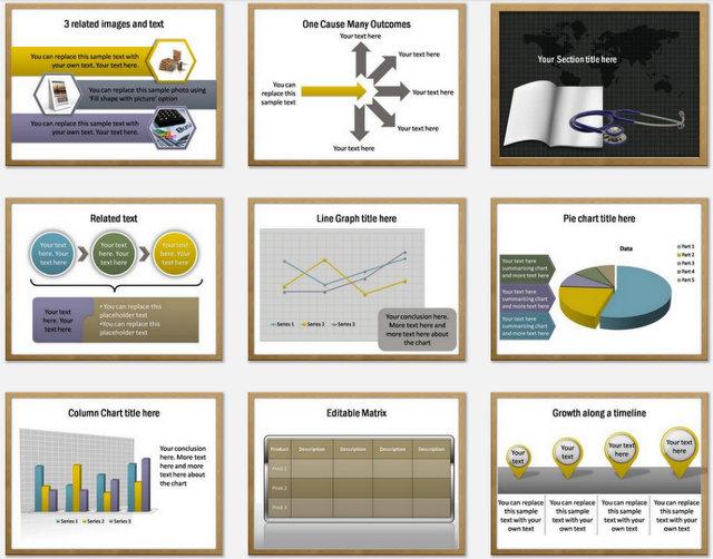 Health Education Pptx Charts 2
