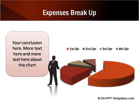 Expenses Data Driven Pie chart