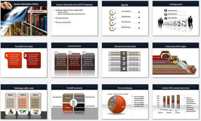 PowerPoint Online Library Charts 1