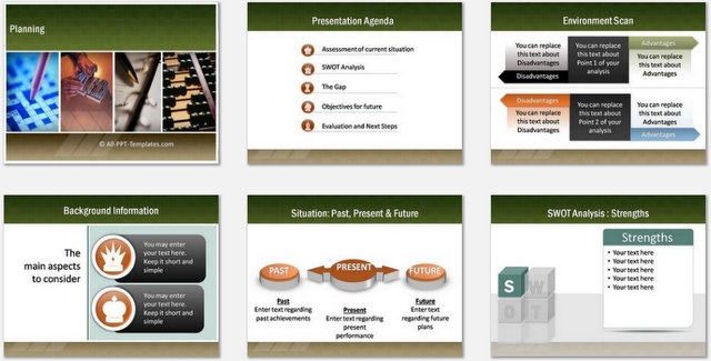PowerPoint Planning Charts 01