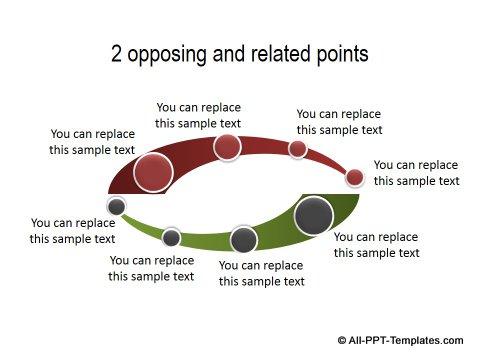 PowerPoint Positive Negative Comparisons 12