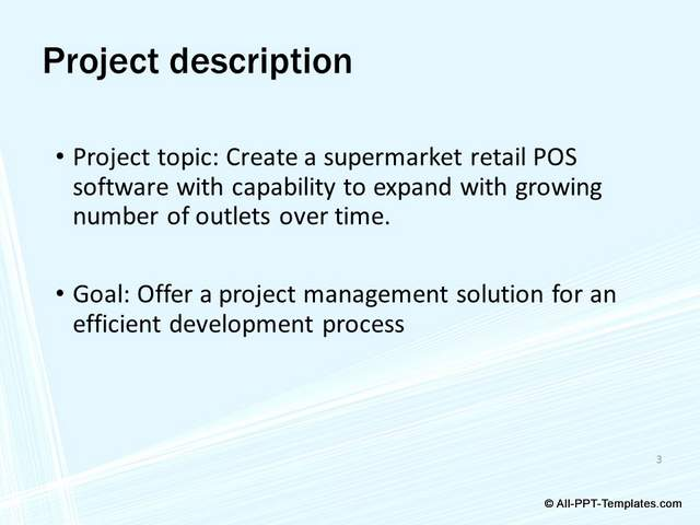 PowerPoint Project Proposal Makeover : Before Slide 03