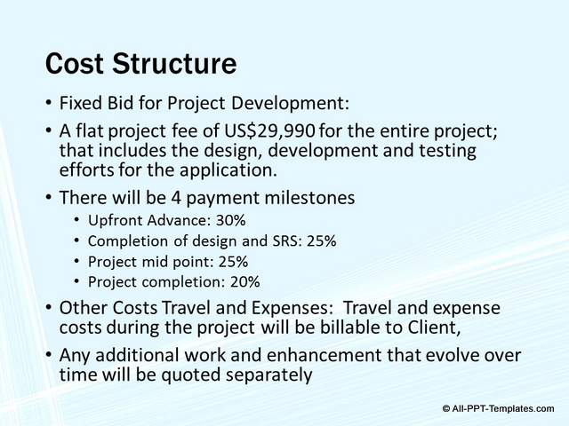 PowerPoint Project Proposal Makeover : Before Slide 07